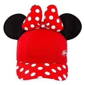 DISNEY   Minnie Mouse Bow Ears Baseball Cap